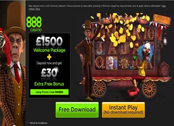 888casino 30 extra bonus