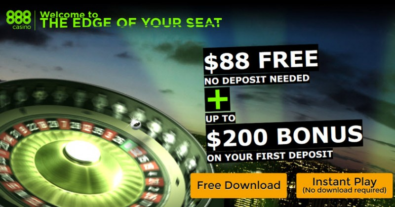 888 casino bonus no deposit online game