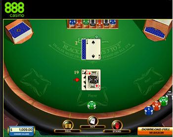 blackjack 888casino games free bonus sign-up
