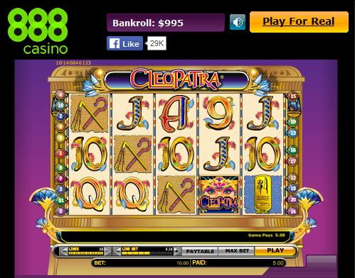 cleopatra slot review gamblink online casino magazine