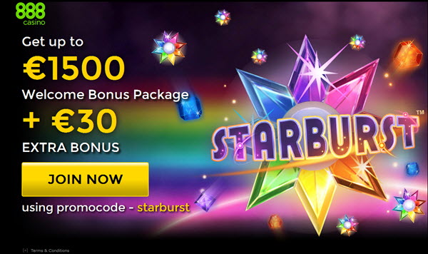 starburst slot 888casino bonus new player gamblinl.com Online Casino Magazine