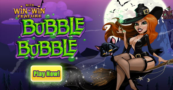bubble buble slot bonus 10 free spins