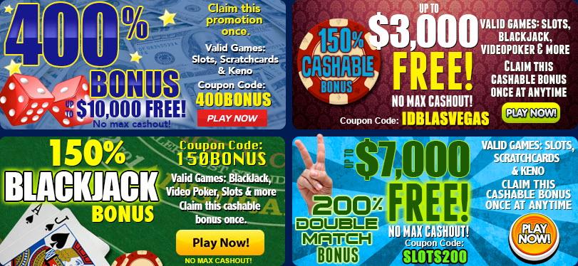 Las Vegas USA Casino Review Bonus 35 Free Chip (Coupon: COL35)